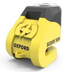 Oxford ključavnica za disk Scoot XD5, rumena