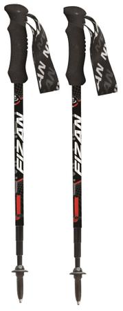 Fizan treking palice Compact 4, črne