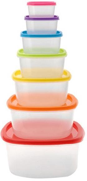 Ceramic Blade Plastové nádoby na potraviny 7 ks