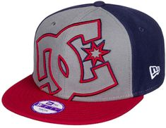 DC Double Up B Hats Grey Blues
