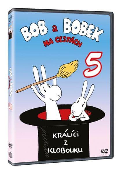 Bob a Bobek na cestách 5 - DVD