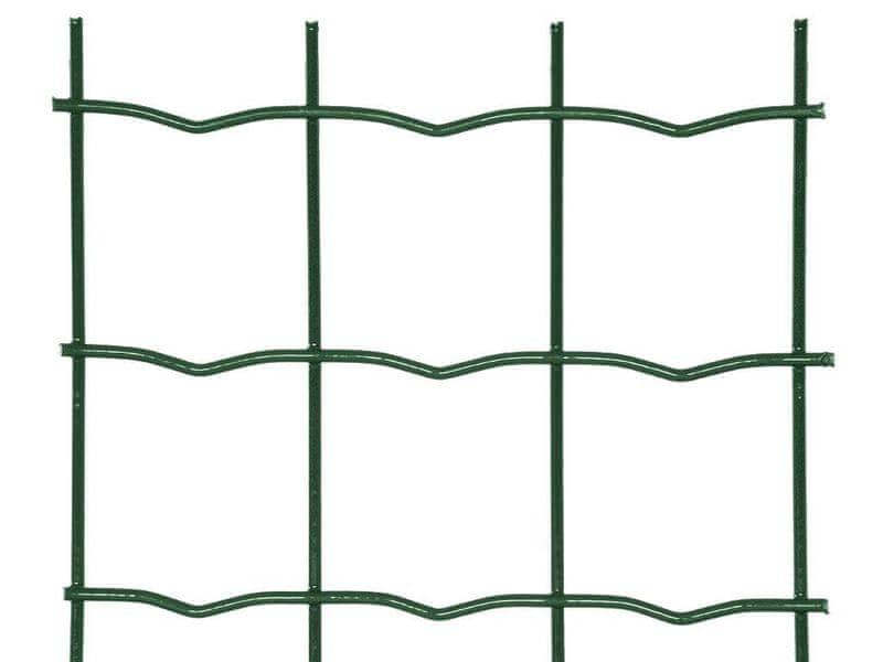Zahradní síť SUPER poplastovaná Zn+PVC - výška 120 cm, role 25 m