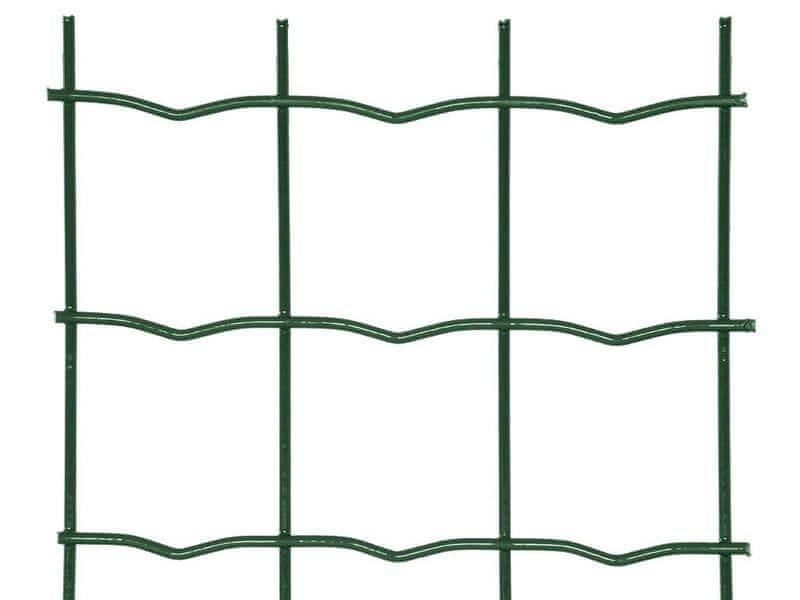 Zahradní síť SUPER poplastovaná Zn+PVC - výška 180 cm, role 25 m