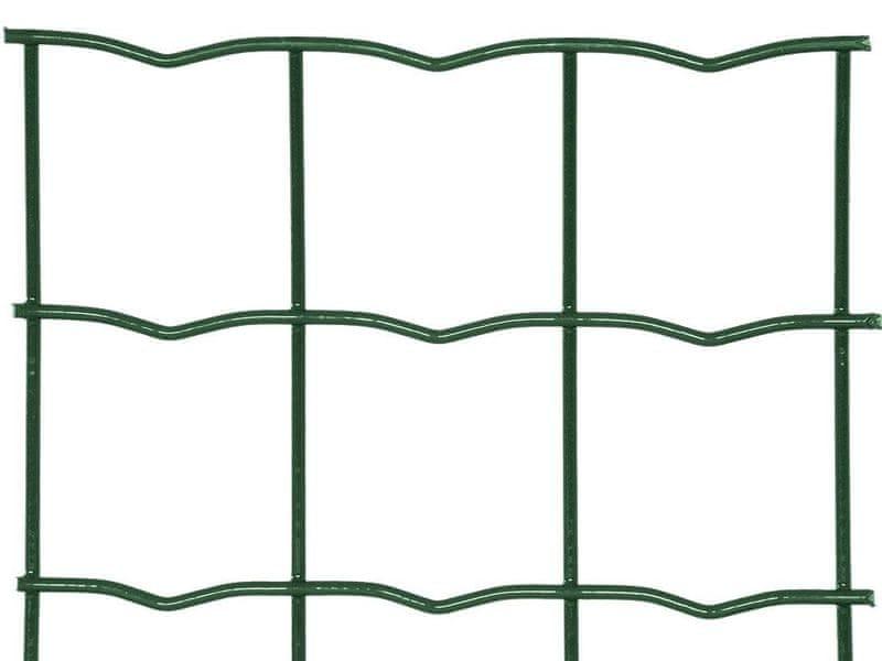 Zahradní síť SUPER STRONG poplastovaná Zn+PVC - výška 150 cm, role 20 m