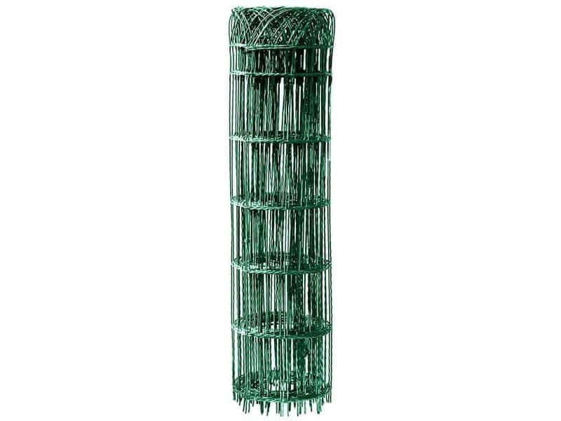 Dekorační pletivo Zn+PVC - výška 25 cm, role 10 m