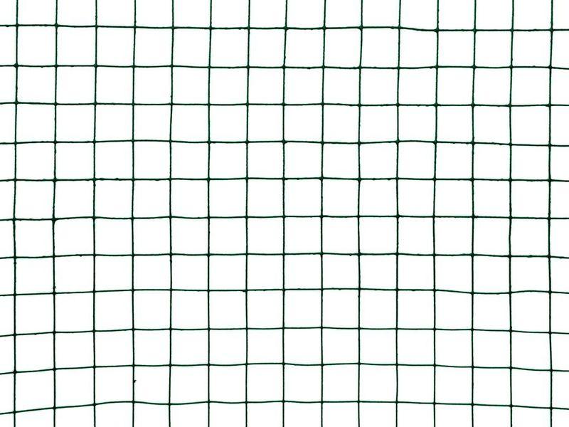 Chovatelská svařovaná síť Zn+PVC - oko 25,0 mm, výška 100 cm, role 10 m