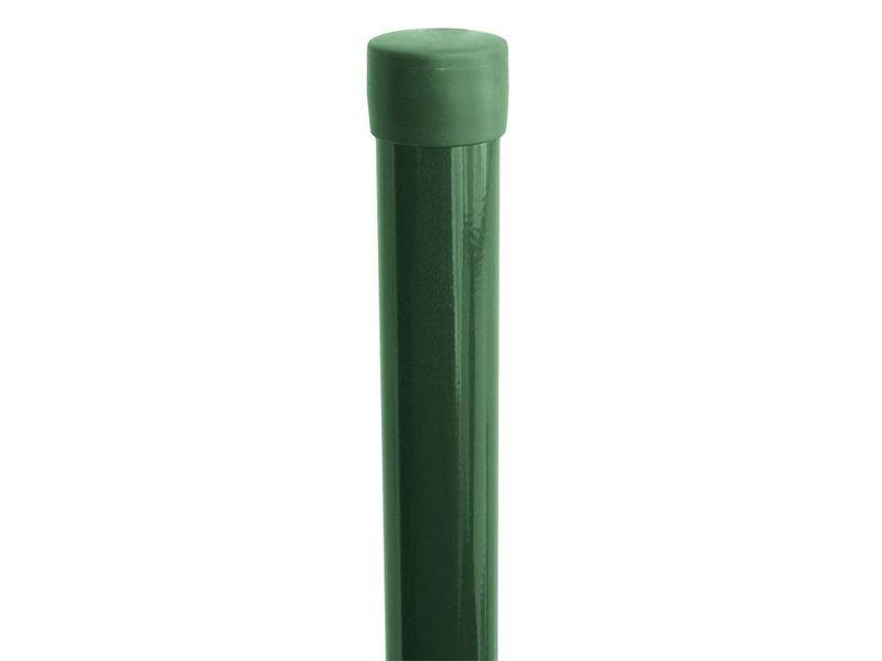 Plotový sloupek Zn+PVC 2000/48, bez příchytky