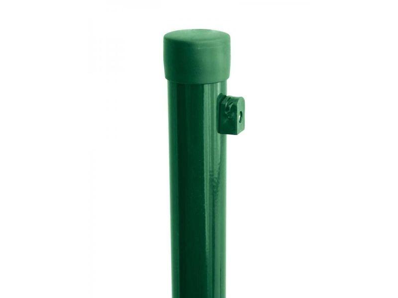 Plotový sloupek Zn+PVC 2400/48