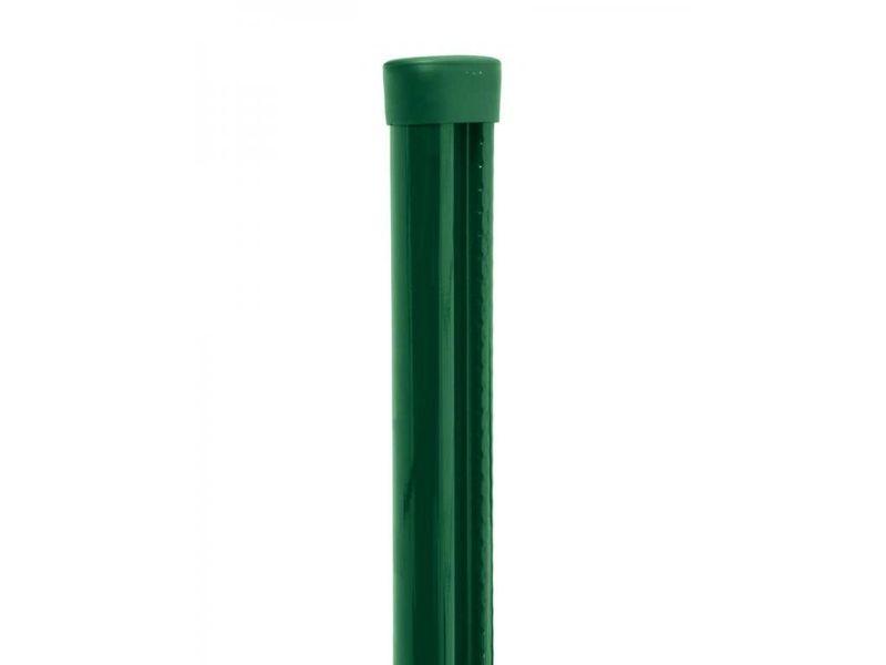 Plotový sloupek s montážní lištou PILCLIP Zn+PVC, 3000/48