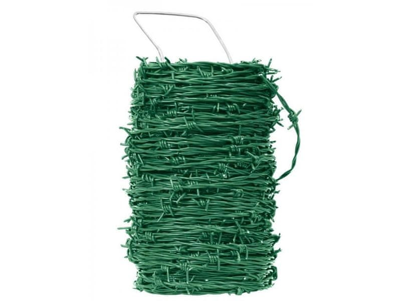 Ostnatý drát Pichláček Zn+PVC (poplastovamý) - balení 50 m
