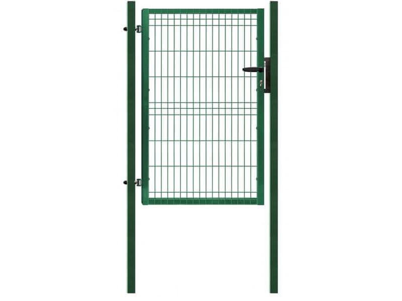 Jednokřídlá branka poplastovaná Zn+PVC 1094×1730 mm