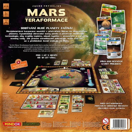 Mindok MARS: teraformácie