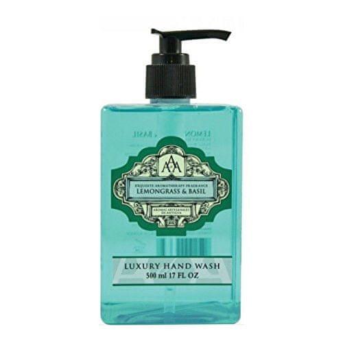 Somerset Toiletry Luxusní tekuté mýdlo na ruce Citronová tráva a bazalka (Luxury Hand Wash) 500 ml