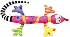 BINO Jaszczurka różowa, 80 cm