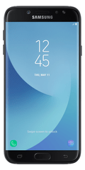 SAMSUNG Galaxy J7, 2017, J730, Single SIM, Fekete