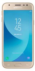 Samsung Galaxy J3 Duos, 2017, J330, Dual SIM, zlatý