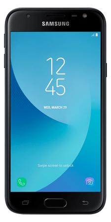 Samsung Galaxy J3 Duos, J330, Dual SIM, černý