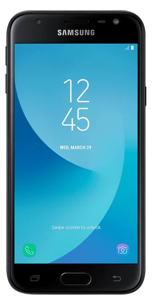 Samsung Galaxy J3 Duos, 2017, J330, Dual SIM, černý