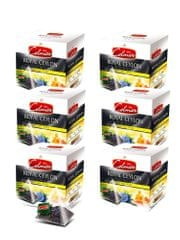 Celmar črni čaj Royal Ceylon English tea, 20 piramidnih vrečk 6 paketov