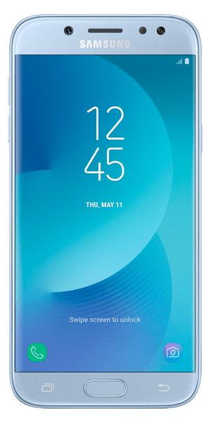 Samsung Galaxy J5, 2017, J530, Dual SIM, stříbrno-modrý