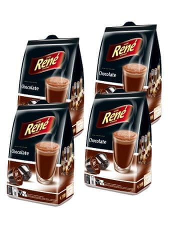 René Chocolate kapsuly pre kávovary Dolce Gusto 16 ks, 4 balení