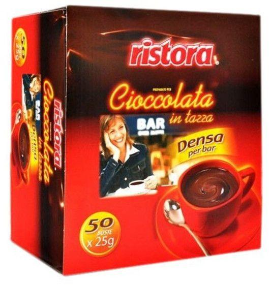 Ristora Densa horká mléčná čokoláda 50 x 25g