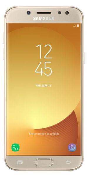 Samsung Galaxy J5, 2017, J530, Dual SIM, zlatý