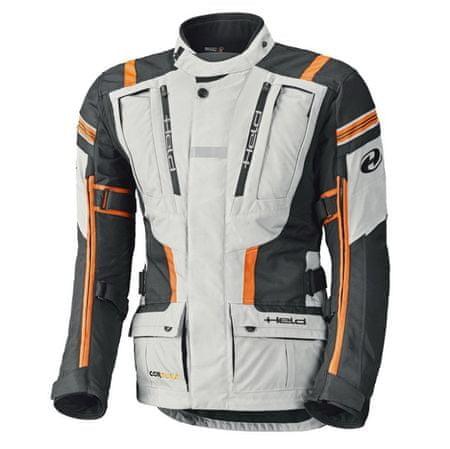 Held pánská bunda HAKUNA 2 vel.XL šedá/oranžová, (voděodolná) textilní