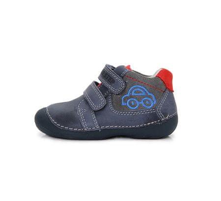 D-D-step chlapecká kotníková obuv 19 modrá  c09d318ecd