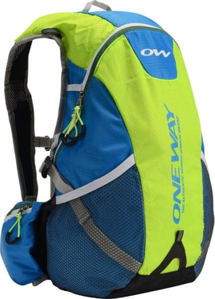 One Way Hydro Back Bag 20L Yellow-Blue