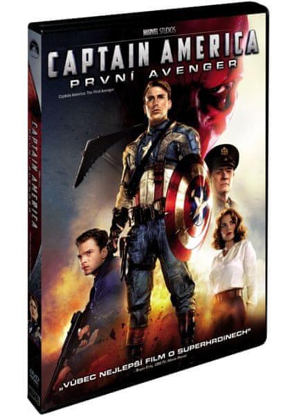 Captain America: První Avenger - DVD
