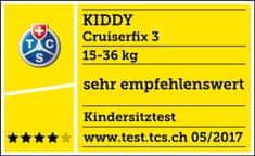 KIDDY Fotelik Cruiserfix 3 2017