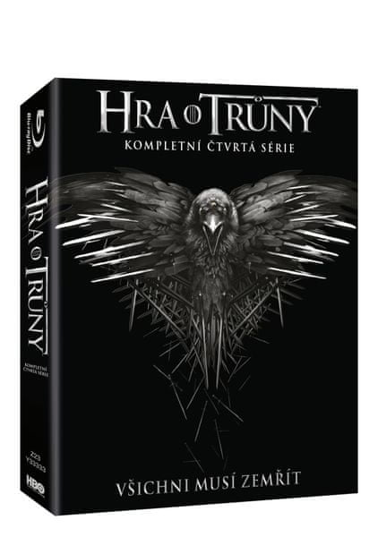 Hra o trůny / Game of Thrones - 4. série (4BD VIVA balení) - Blu-ray