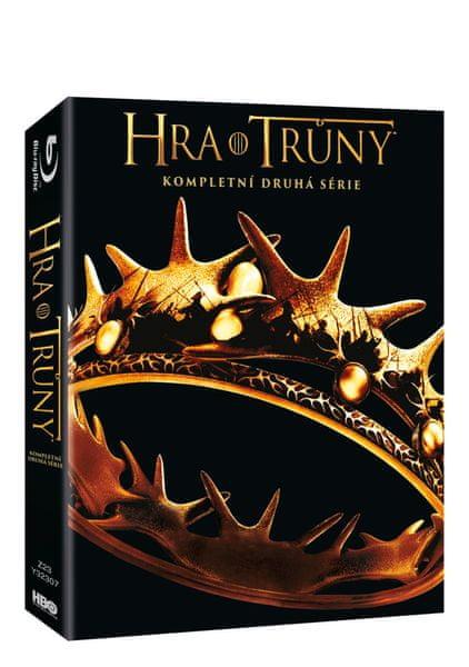 Hra o trůny / Game of Thrones - 2. série (5BD VIVA balení) - Blu-ray
