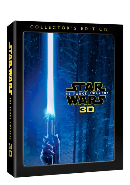 Star Wars: Síla se probouzí 3D (3D+2D+bonusový disk) - Blu-ray