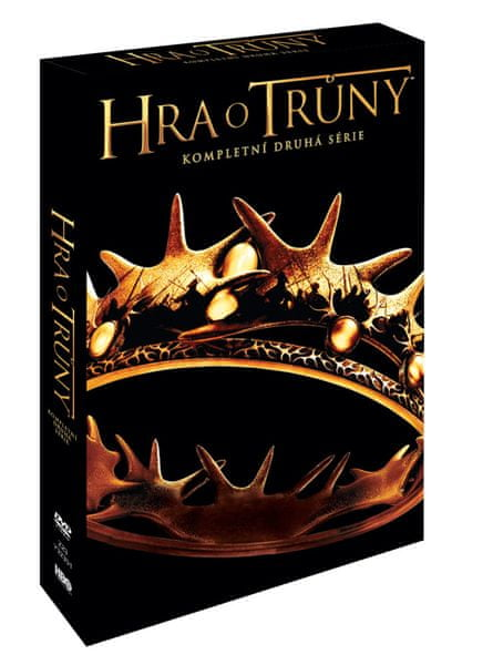 Hra o trůny / Game of Thrones - 2. série (5DVD VIVA balení) - DVD