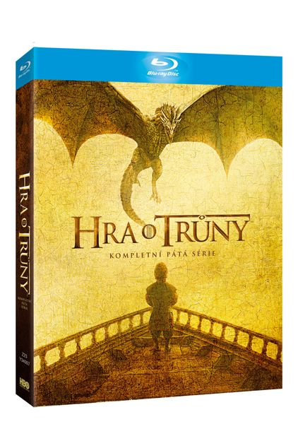 Hra o trůny / Game of Thrones - 5. série (4BD VIVA balení) - Blu-ray
