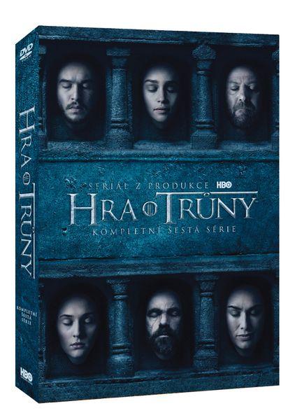 Hra o trůny / Game of Thrones - 6. série (5DVD VIVA balení) - DVD