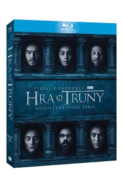 Hra o trůny / Game of Thrones - 6. série (4BD VIVA balení) - Blu-ray