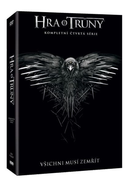 Hra o trůny / Game of Thrones - 4. série (5DVD VIVA balení) - DVD