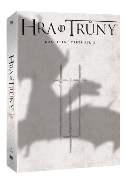 Hra o trůny / Game of Thrones - 3. série (5DVD VIVA balení) - DVD