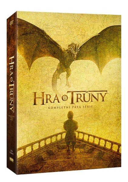 Hra o trůny / Game of Thrones - 5. série (5DVD VIVA balení) - DVD