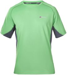 Berghaus Tech Tee Basecrew SS Am Green Grey