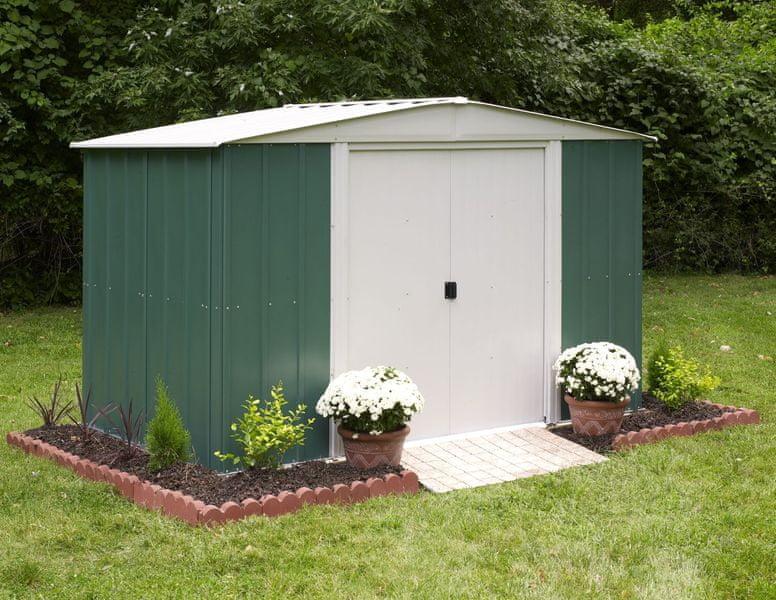 Arrow zahradní domek ARROW DRESDEN 106 zelený