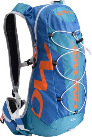 One Way Hydro Back Bag 15L Blue-Orange hátizsák