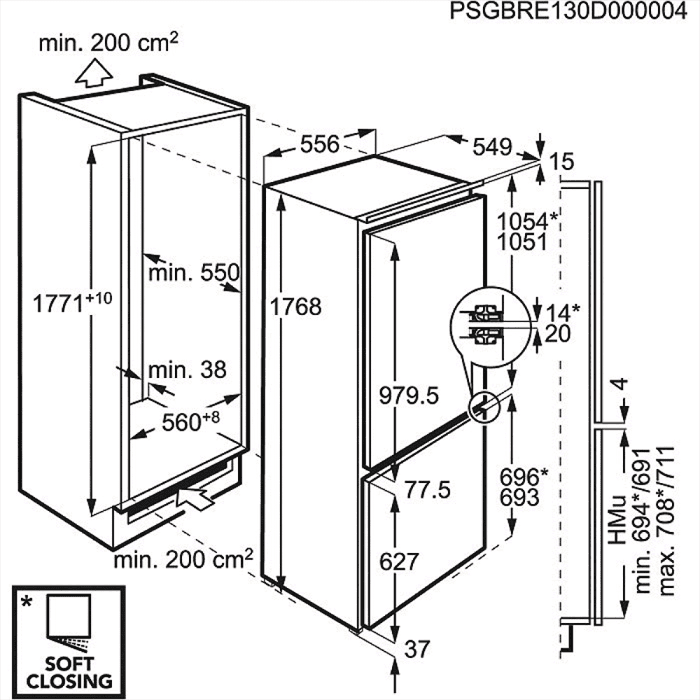 AEG Mastery SCE81826TF