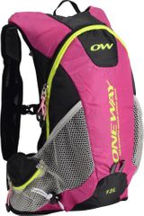 One Way Run Hydro Back 12L Pink-Black