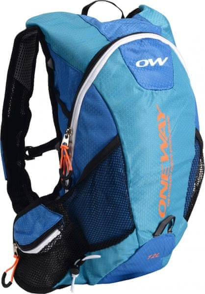 One Way Run Hydro Back 12L Blue-Orange