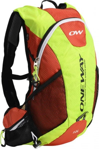 One Way Run Hydro Back 12L Yellow-Red