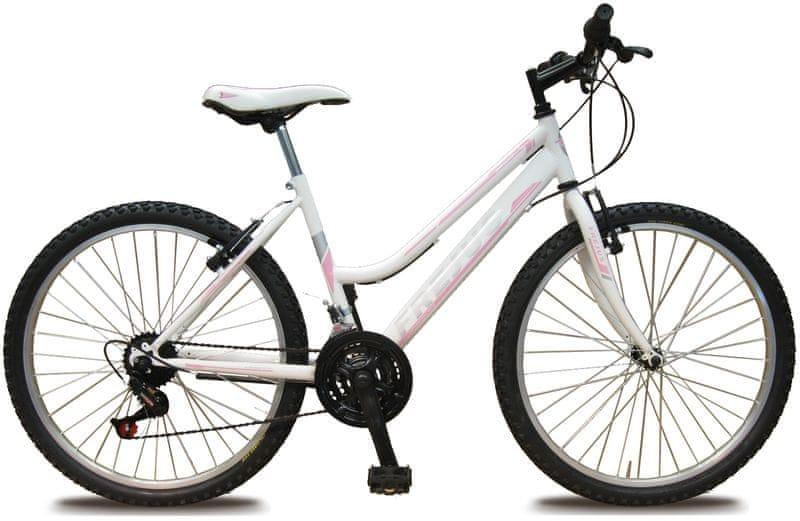 """Frejus X24 24"""" dívčí bílé/růžové"""